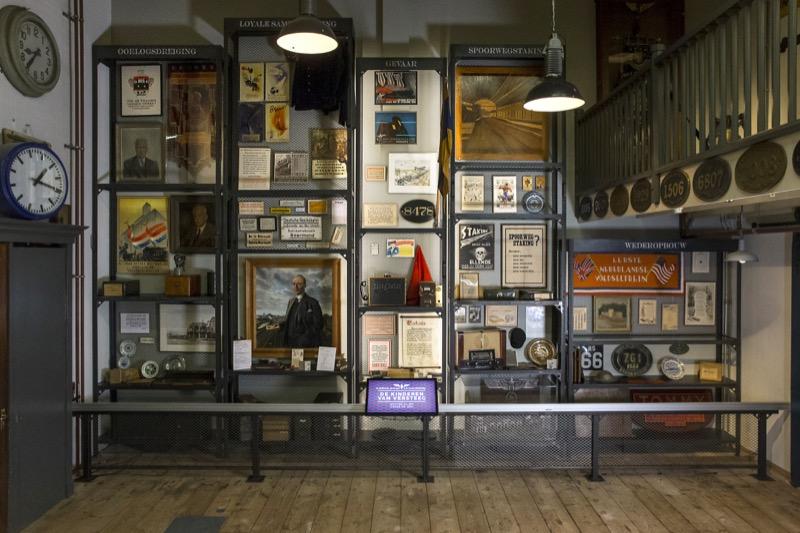 5 objecten uit de Tweede Wereldoorlogcollectie van het Spoorwegmuseum