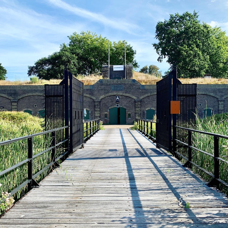 Fort Ruigenhoek voorkant