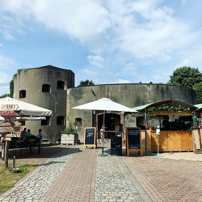 Fort aan de Klop voorkant