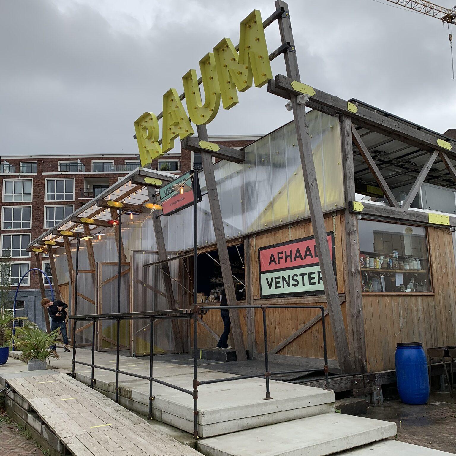 Venster en Raum op Berlijnplein tijdens online cultuurfestival